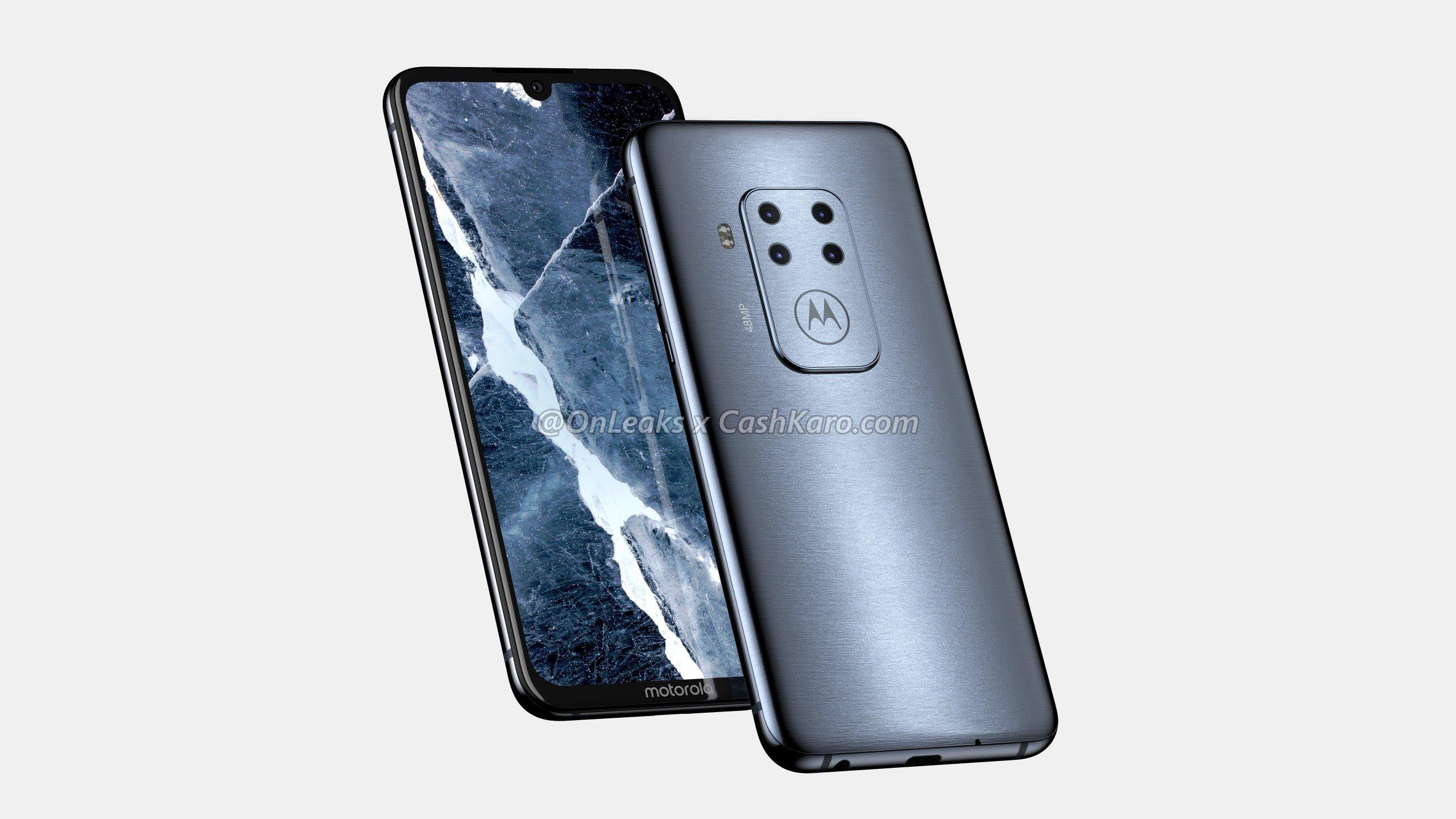 Motorola : le design dévoilé de son premier smartphone avec 4 appareils photo