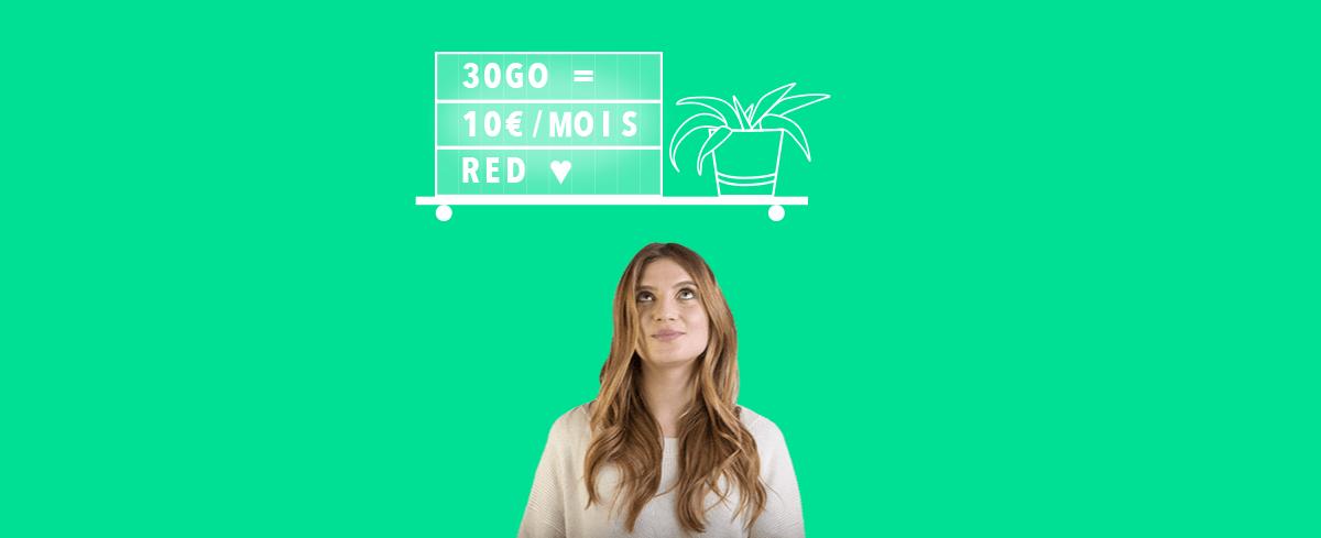 🔥 Bon plan : SFR renouvelle ses forfaits mobile RED illimité avec un premier mois offert