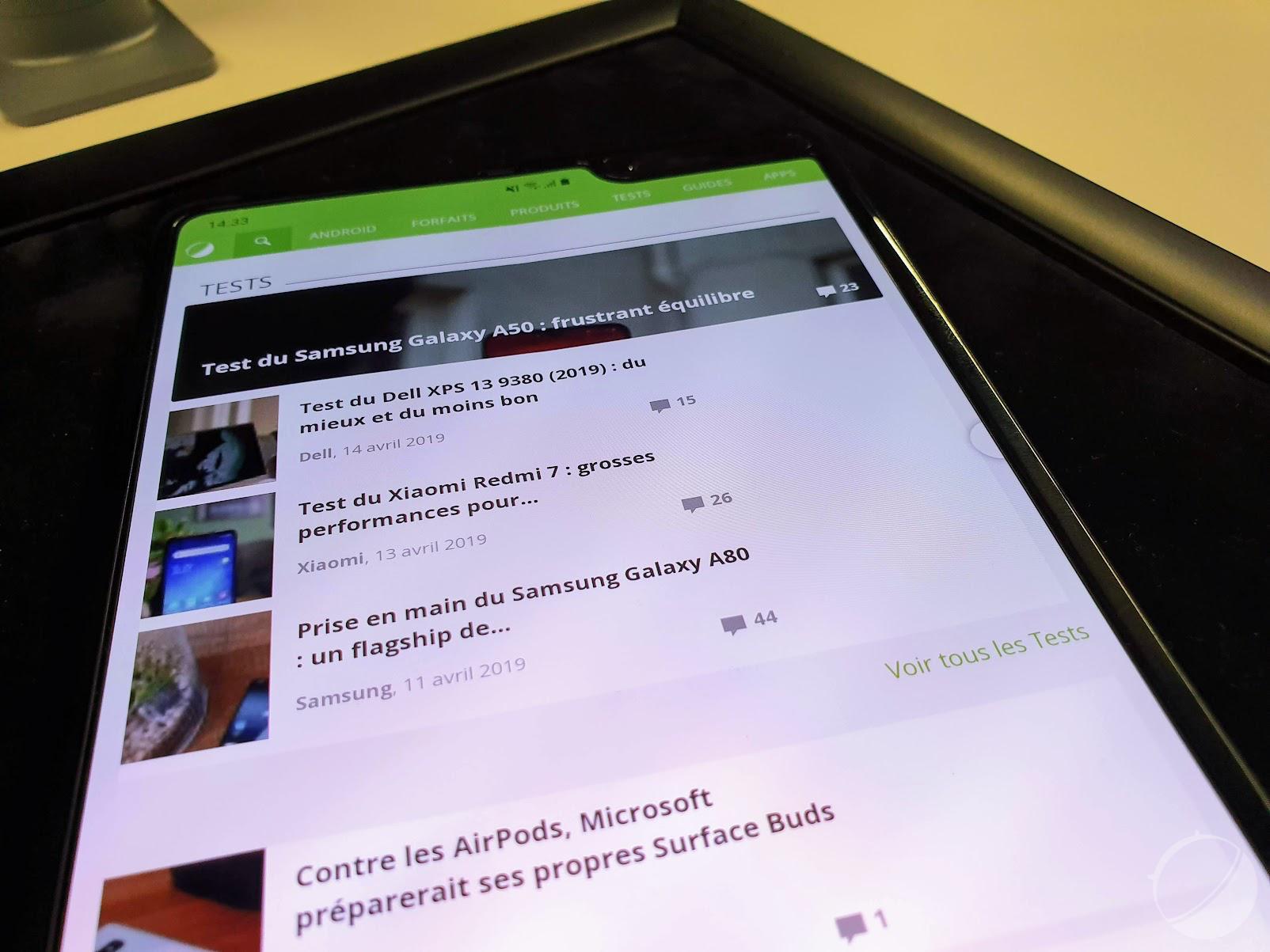 Les actualités qui ont marqué la semaine : le Samsung Galaxy Fold retardé et démonté et la Switch Mini absente de l'E3