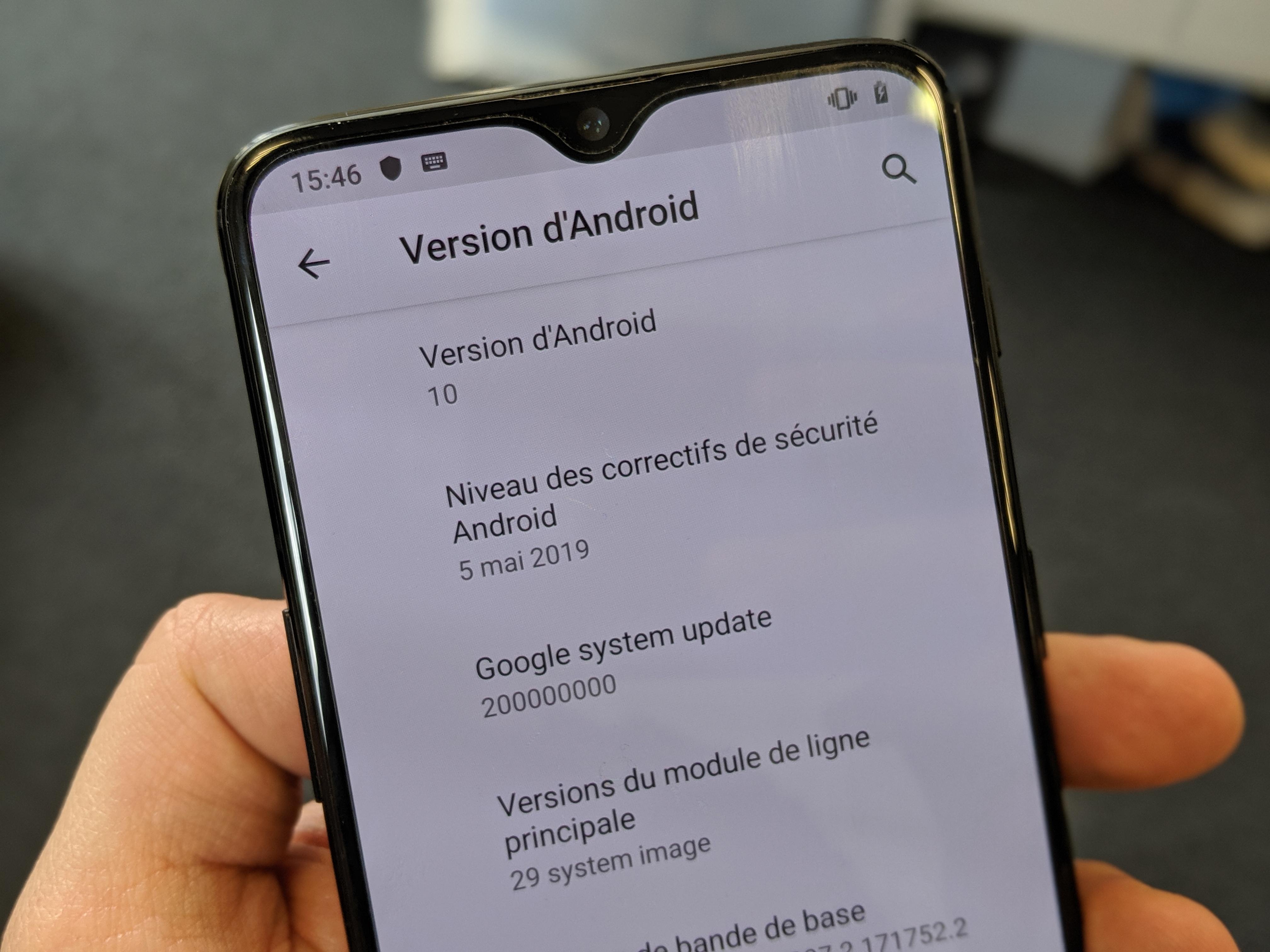Android 10 Q : pas de navigation par gestes pour les launchers alternatifs