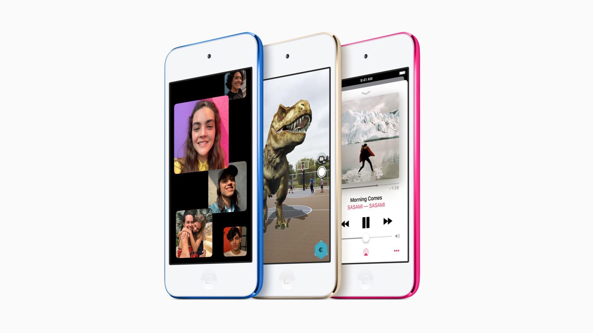 Ne comptez pas réparer votre iPod Touch 2019 si facilement