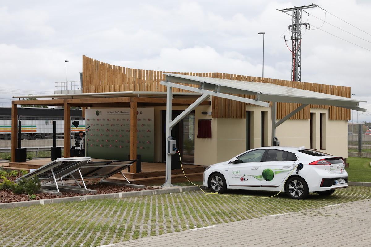 LG Hanok ThinQ : la maison autonome entièrement connectée et indépendante du réseau EDF