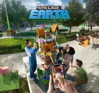 Minecraft Earth : Mojang dévoile un tout nouveau jeu pour les 10 ans