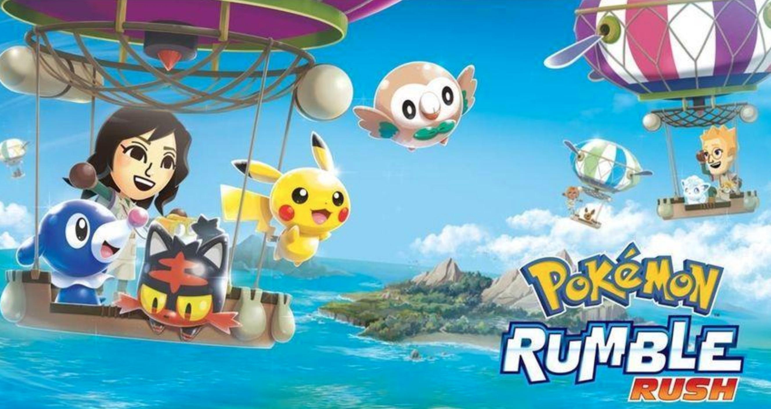 Pokémon Rumble Rush : un nouveau jeu mobile apparaît (encore) !
