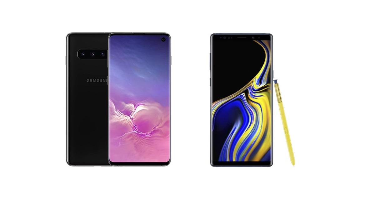 Le Galaxy S10 à moins de 600 euros et le Galaxy Note 9 à 526 euros sur Rakuten ce dimanche