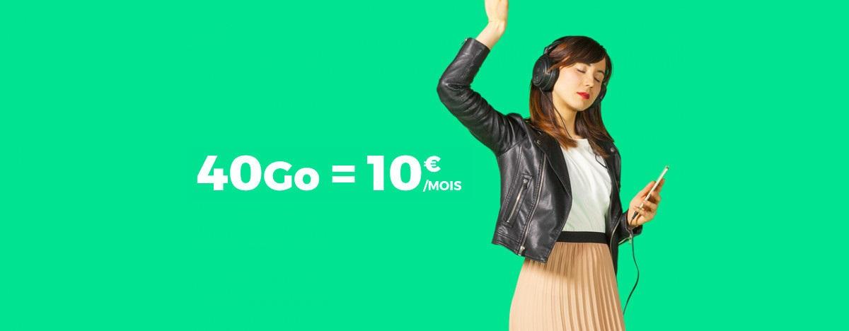 40 Go de données mobiles à 10 euros par mois ? C'est le bon plan de RED by SFR