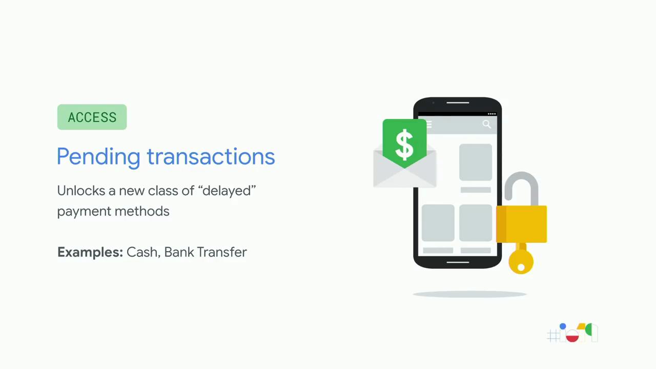 Le Google Play supporte les paiements différés… dans certains pays