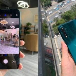 Huawei Nova 5 Pro : entre Huawei P30 et Honor 20, il se dévoile en avance en photos