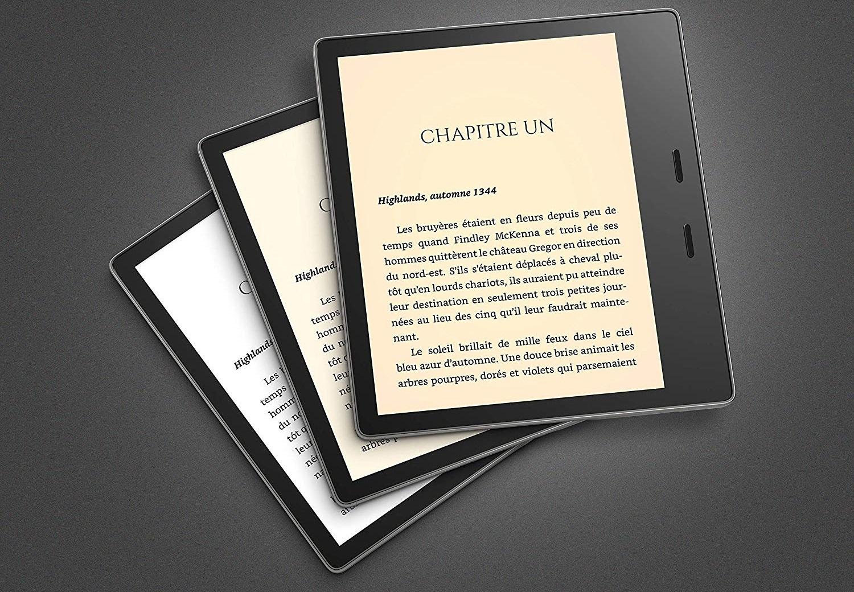 Kindle Oasis : la nouvelle liseuse d'Amazon propose enfin un mode confort des yeux