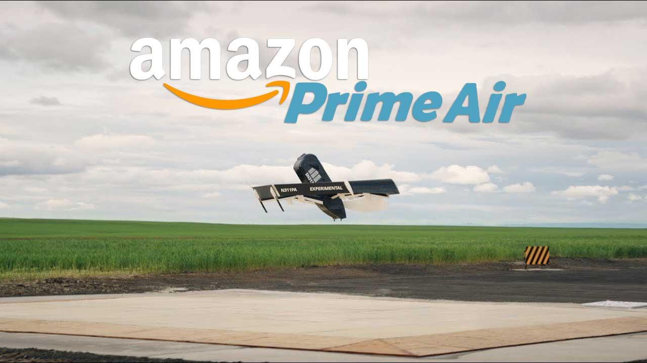 Amazon : décollage imminent pour ses drones de livraison autonomes
