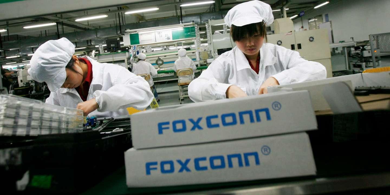 Foxconn est prêt à délocaliser la production d'iPhone au besoin