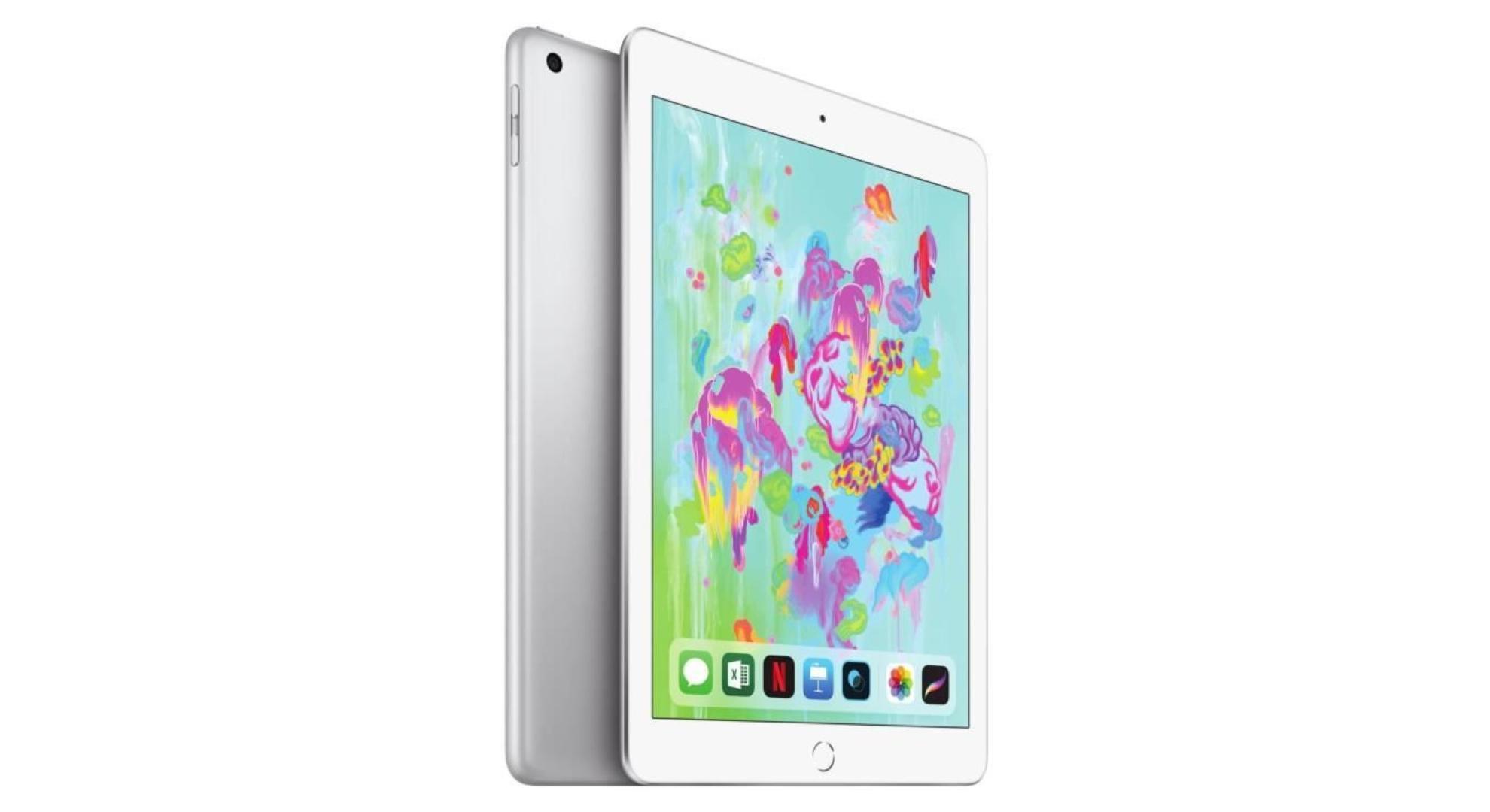 🔥 Soldes 2019 : l'iPad 2018 (compatible avec iPad OS) est à 299 euros