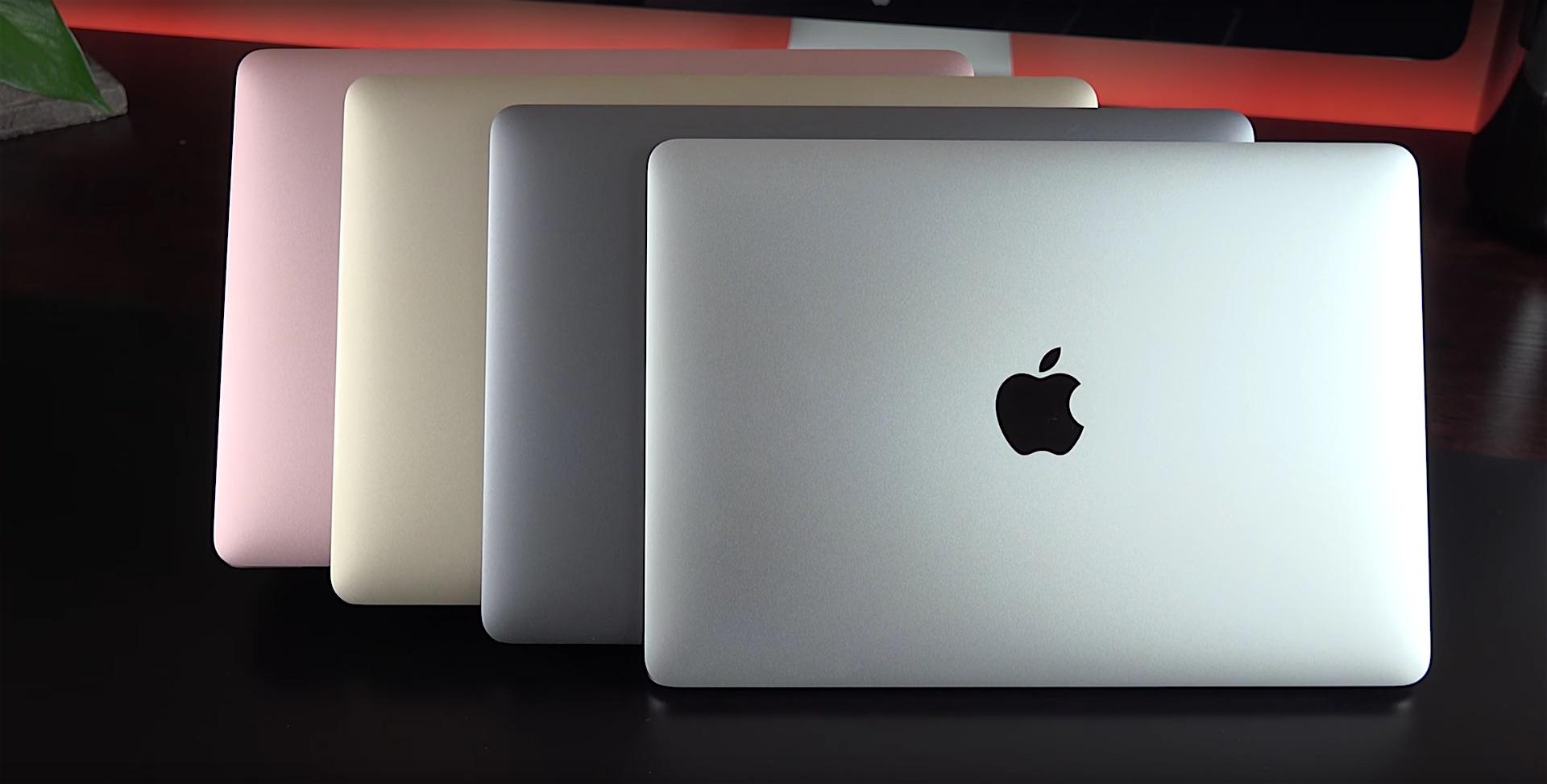 MacBook : Apple semble garder 7 nouveaux modèles dans sa manche