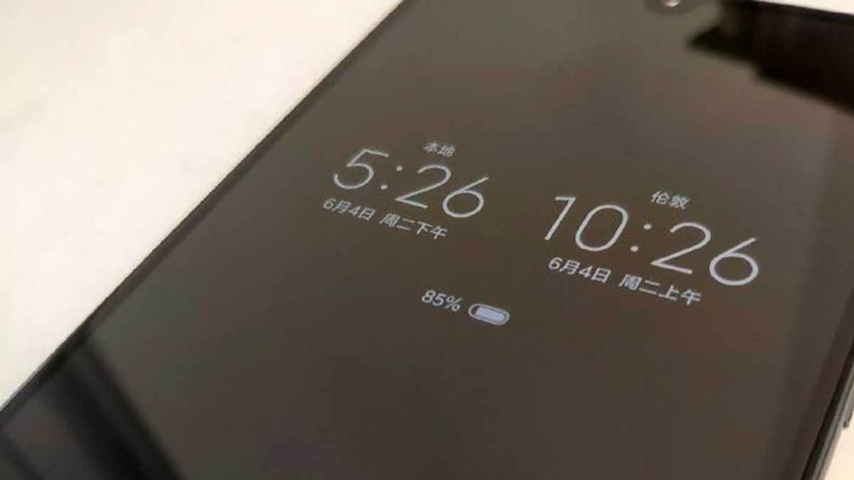 Xiaomi : tous les smartphones OLED auront l'Always on Display