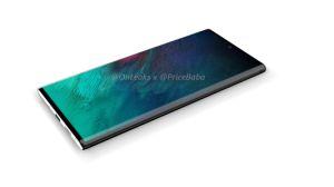 Le Samsung Galaxy Note 10+ apparaît écran allumé dans des photos à la dérobée