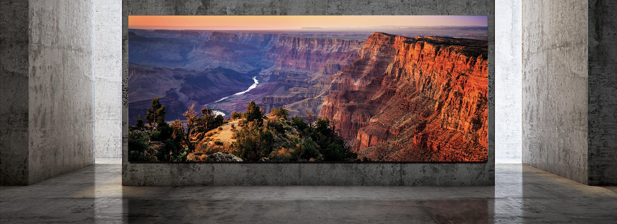 Samsung The Wall Luxury : un énorme téléviseur de 292 pouces 8K et Micro LED