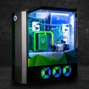 Une PS4 Pro, une Xbox One X, une Nintendo Switch et un PC dans une seule machine : voici le Big O