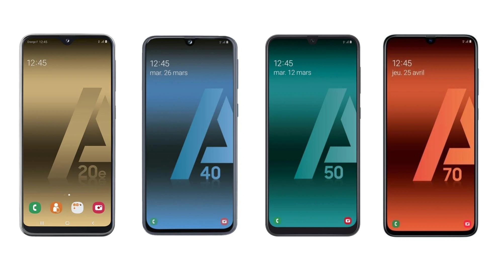 🔥 Soldes 2019 : toute la gamme Galaxy A 2019 de Samsung en promotion