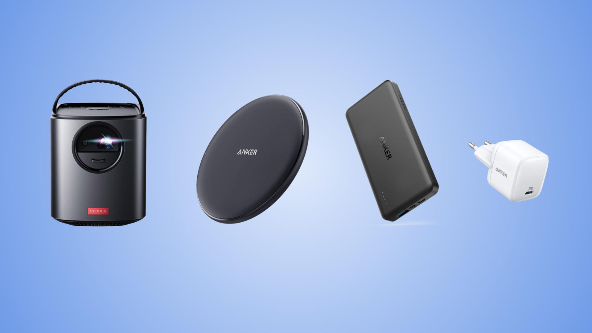Les meilleures offres Anker pour le Prime Day d'Amazon : batterie externe, chargeur, câble et même projecteur