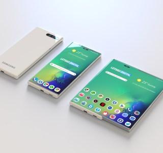 Samsung : la piste d'un smartphone à écran extensible se renforce
