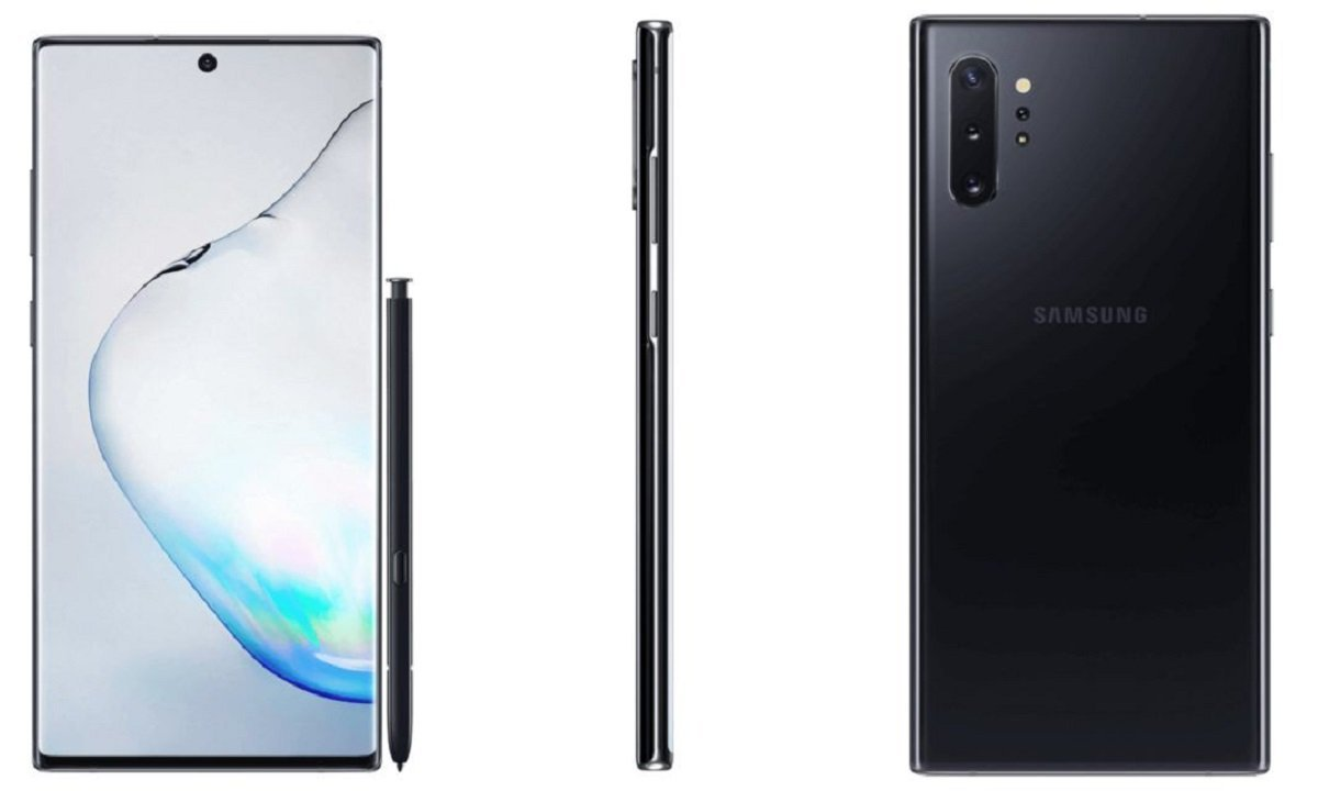 Samsung Galaxy Note 10+ et Watch Active 2 : images promotionnelles en fuite