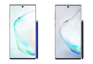 Samsung Galaxy Note 10 : nouveaux rendus haute qualité et date de sortie en fuite