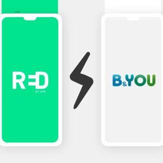 RED vs B&You : quel forfait mobile à 10 euros choisir ?