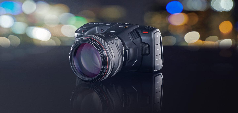 Pocket Cinema 6K : Blackmagic lance une caméra 6K pour les semi-pros