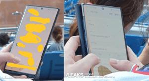 Aperçu dans un stade, le Samsung Galaxy Note 10 est déjà en cours de test