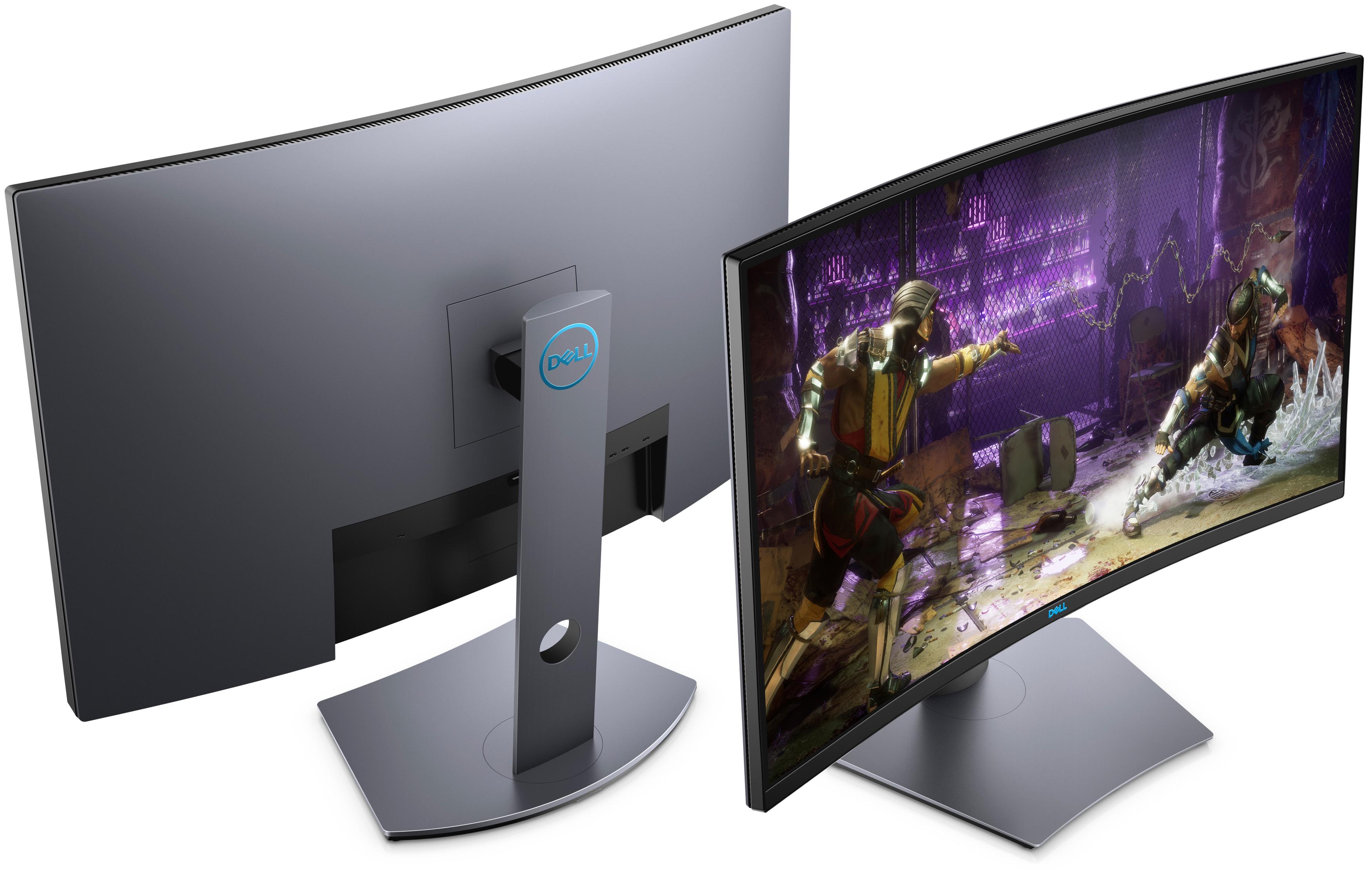 Dell accouche d'un nouveau moniteur 32 pouces QHD 165 Hz… et incurvé