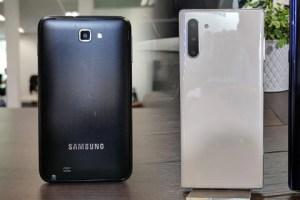 Samsung Galaxy Note 10 : rétrospective sur 8 ans de phablettes
