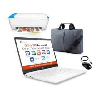 Un laptop, une imprimante, une souris et une sacoche pour 179 euros !