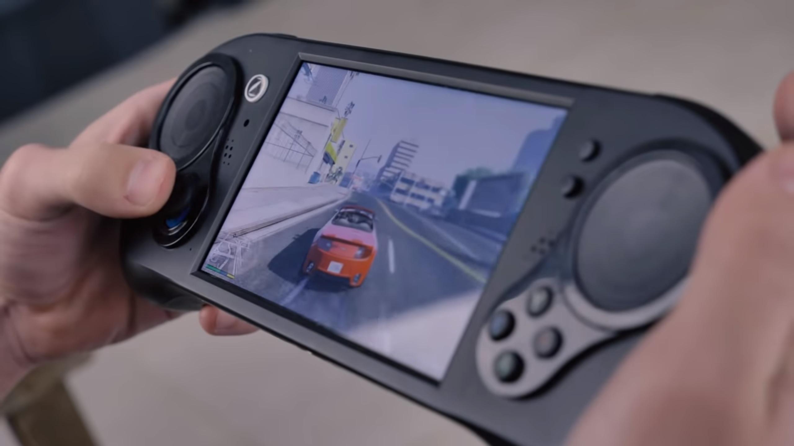 La Smach Z, console portable la plus puissante du marché, se pare d'un nouveau SoC AMD