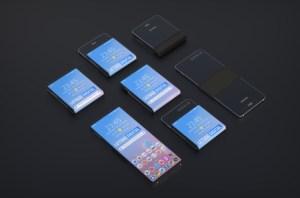 Samsung : le smartphone pliable verticalement se précise dans un brevet