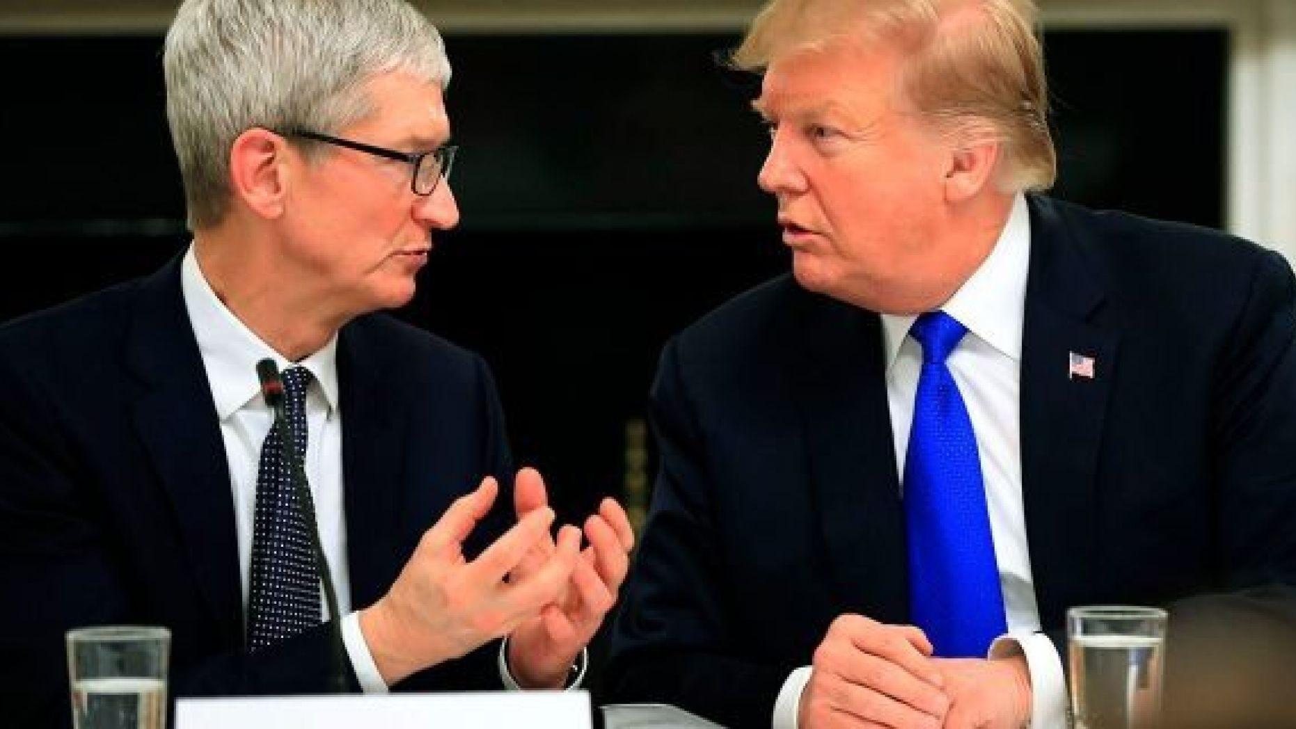 L'usine Apple que Trump prétend inaugurer… existe depuis 6 ans et n'appartient pas à Apple