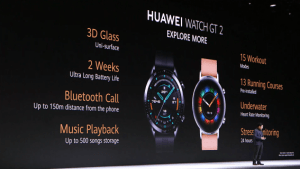 Huawei Watch GT 2 officialisée avec une autonomie de 14 jours