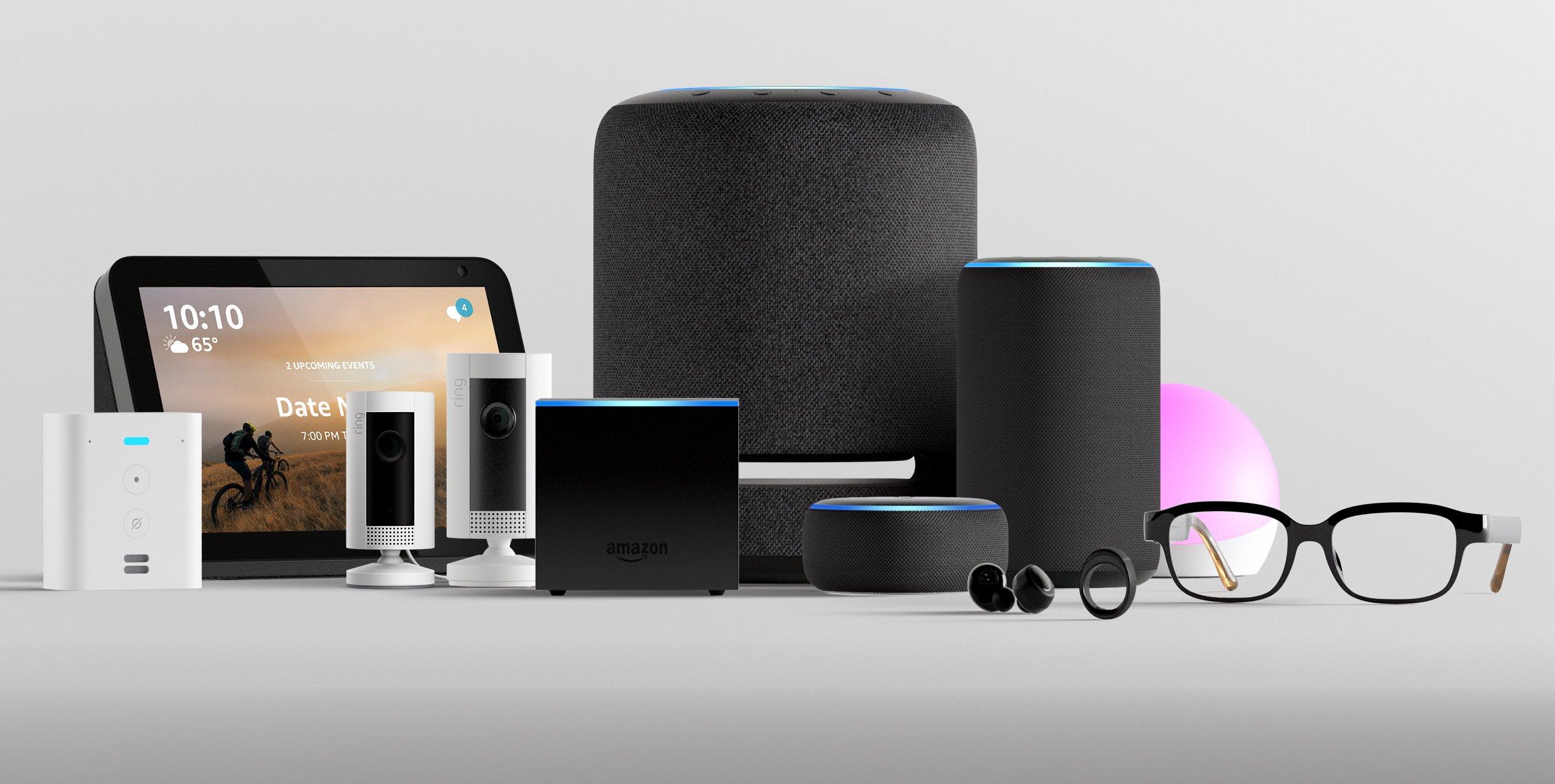 Tout ce qui a été annoncé par Amazon : une Alexa plus sensible, des lunettes intelligentes, de nouveaux Echo, une bague connectée…