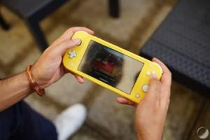 Nintendo Switch Lite : le problème des joysticks répliqué à l'identique