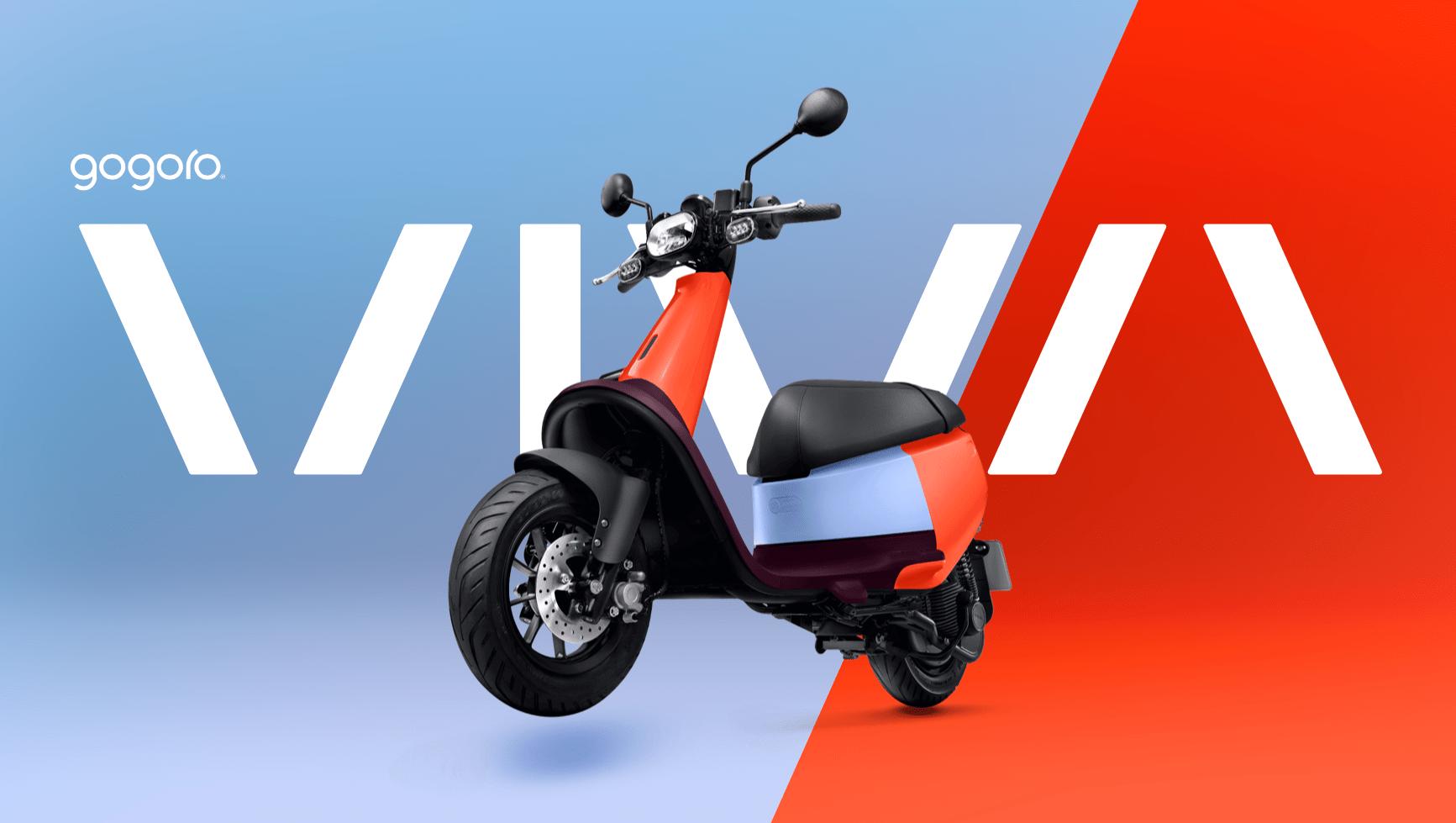 Gogoro Viva : un petit scooter électrique avec 85 kilomètres d'autonomie