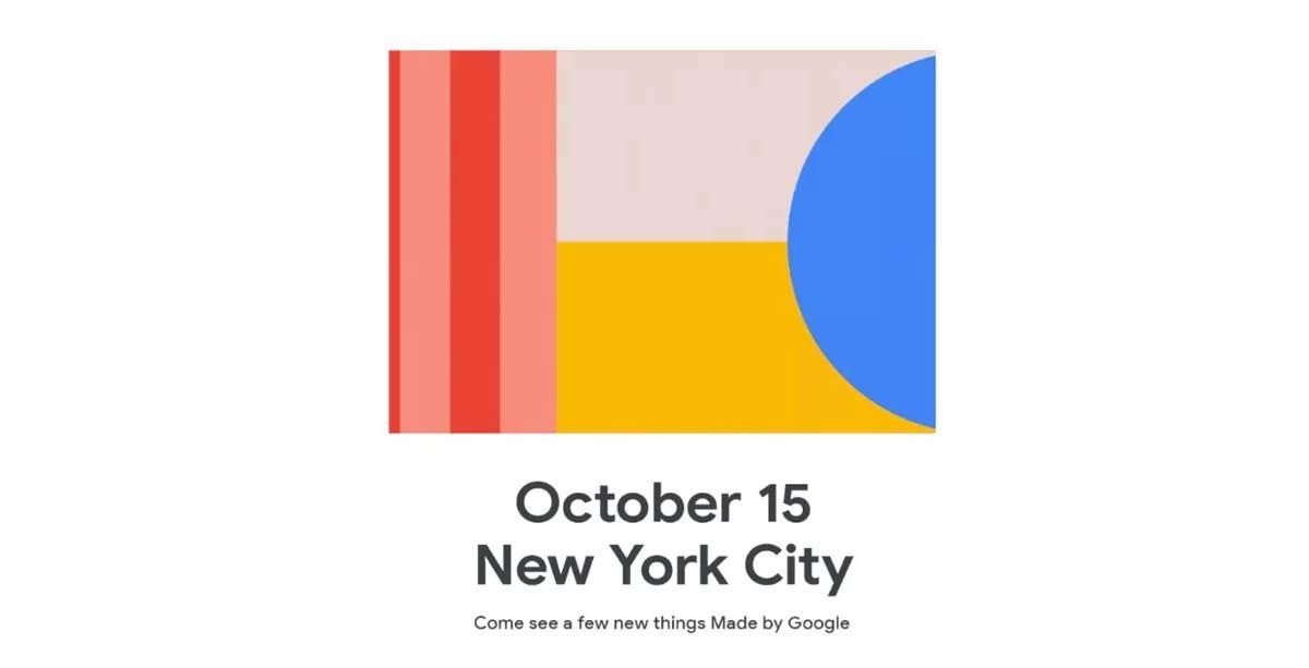Google Pixel 4 et Pixel 4 XL : la date de présentation est confirmée