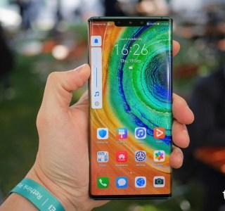 Caméra sous l'écran, bords incurvés partiellement… Huawei se prépare au futur