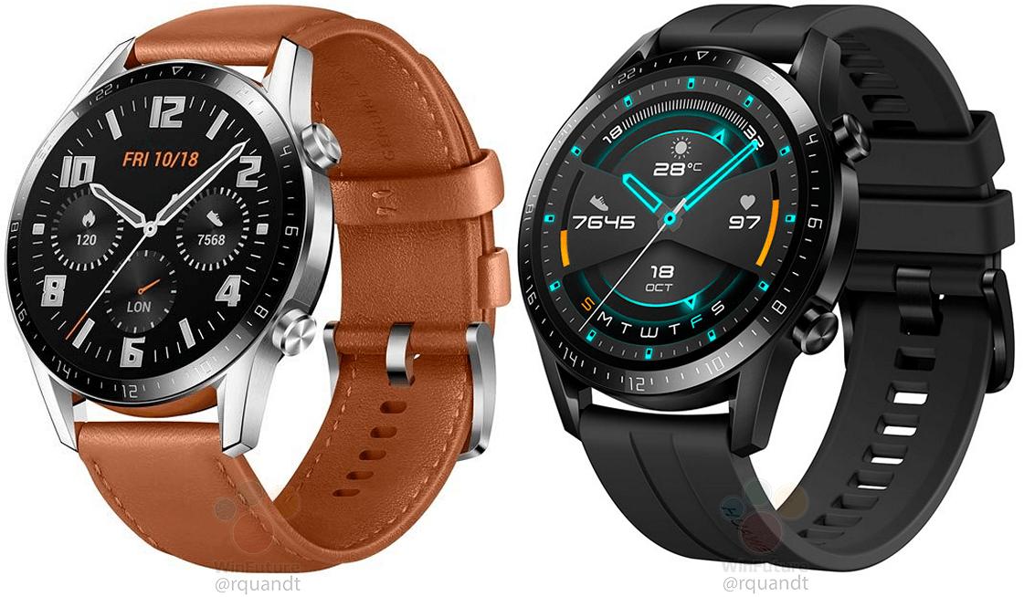 Huawei Watch GT 2 : la nouvelle montre apparaît avant l'heure