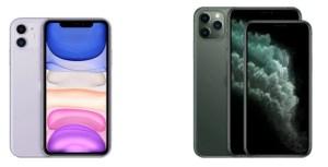 Apple iPhone 11 vs iPhone 11 Pro : pourquoi payer 350 euros de plus ?