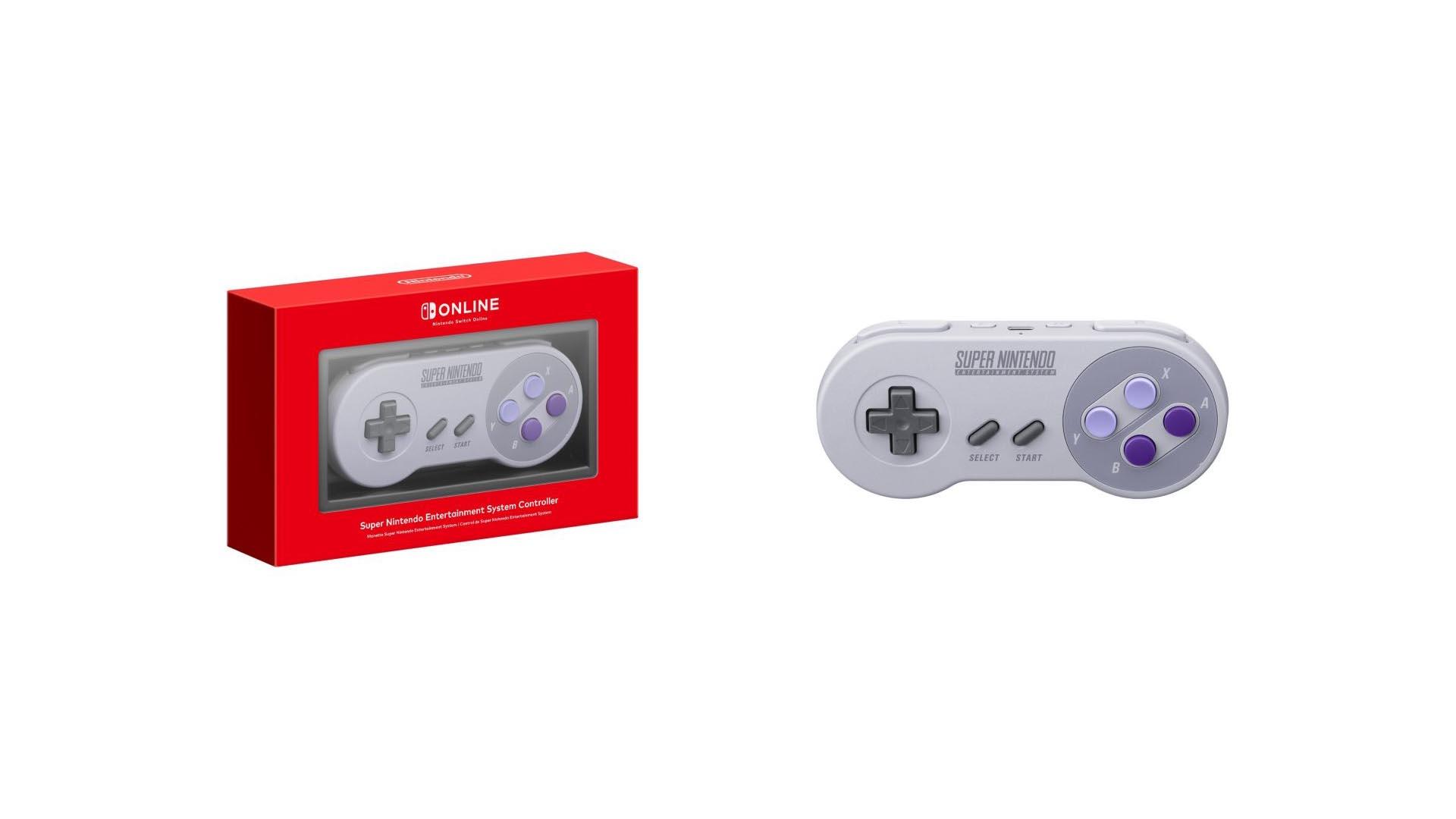 Nintendo Switch : la manette SNES officielle est en vente