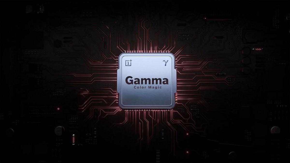 OnePlus TV : la marque dévoile le « Gamma Color Magic », processeur dédié à l'image