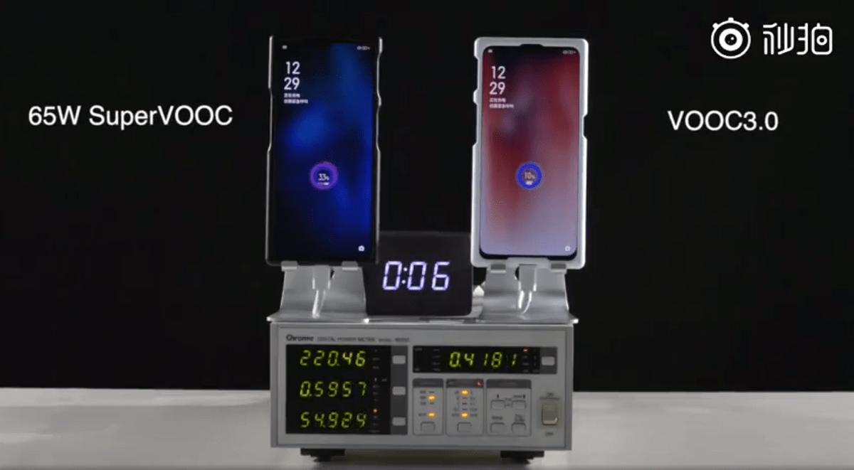 100% de charge en 25 minutes: Oppo présente son nouveau chargeur 65W