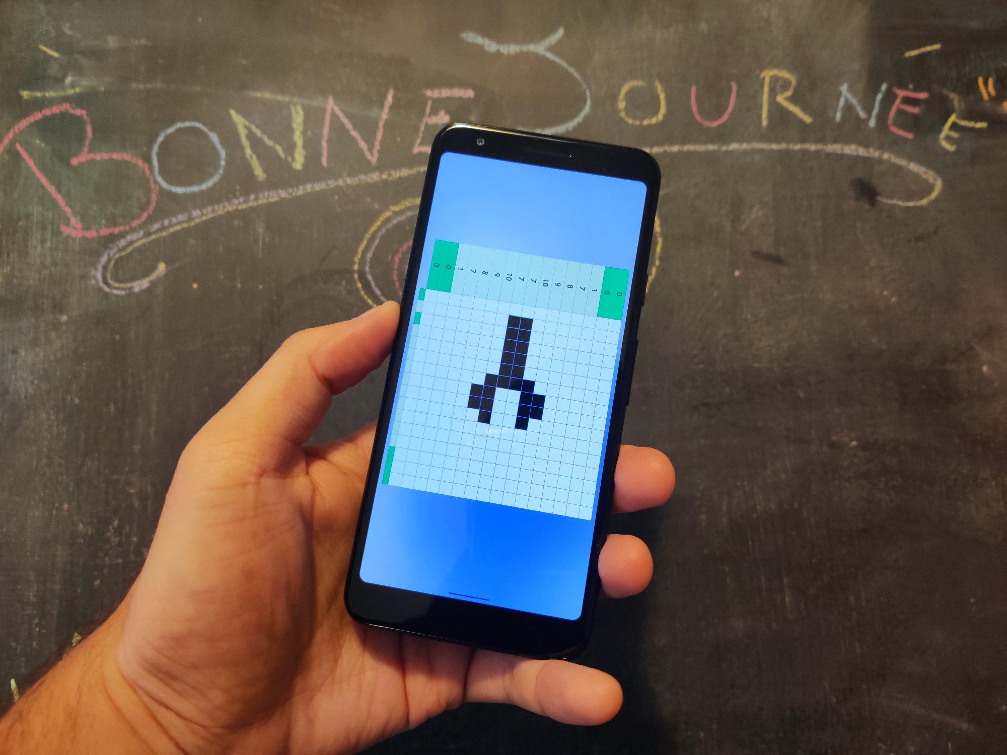 Android 10 cache un jeu de Picross, voici comment y acéder