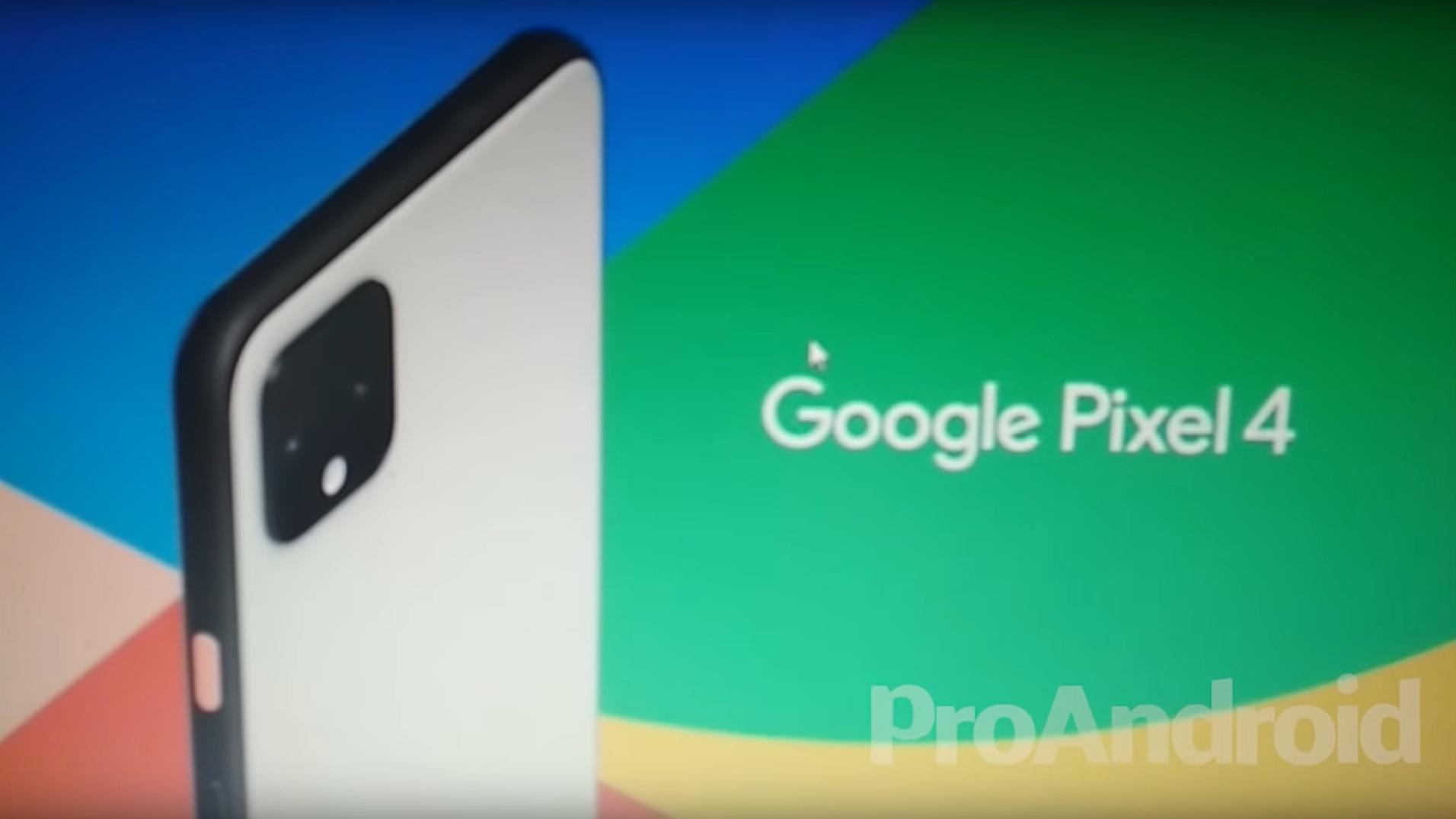 Google Pixel 4 : la vidéo promotionnelle officielle apparaît en ligne