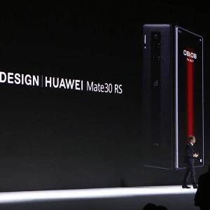 Porsche Design Huawei Mate 30 RS : plus cher qu'un Galaxy Fold, sans le Play Store
