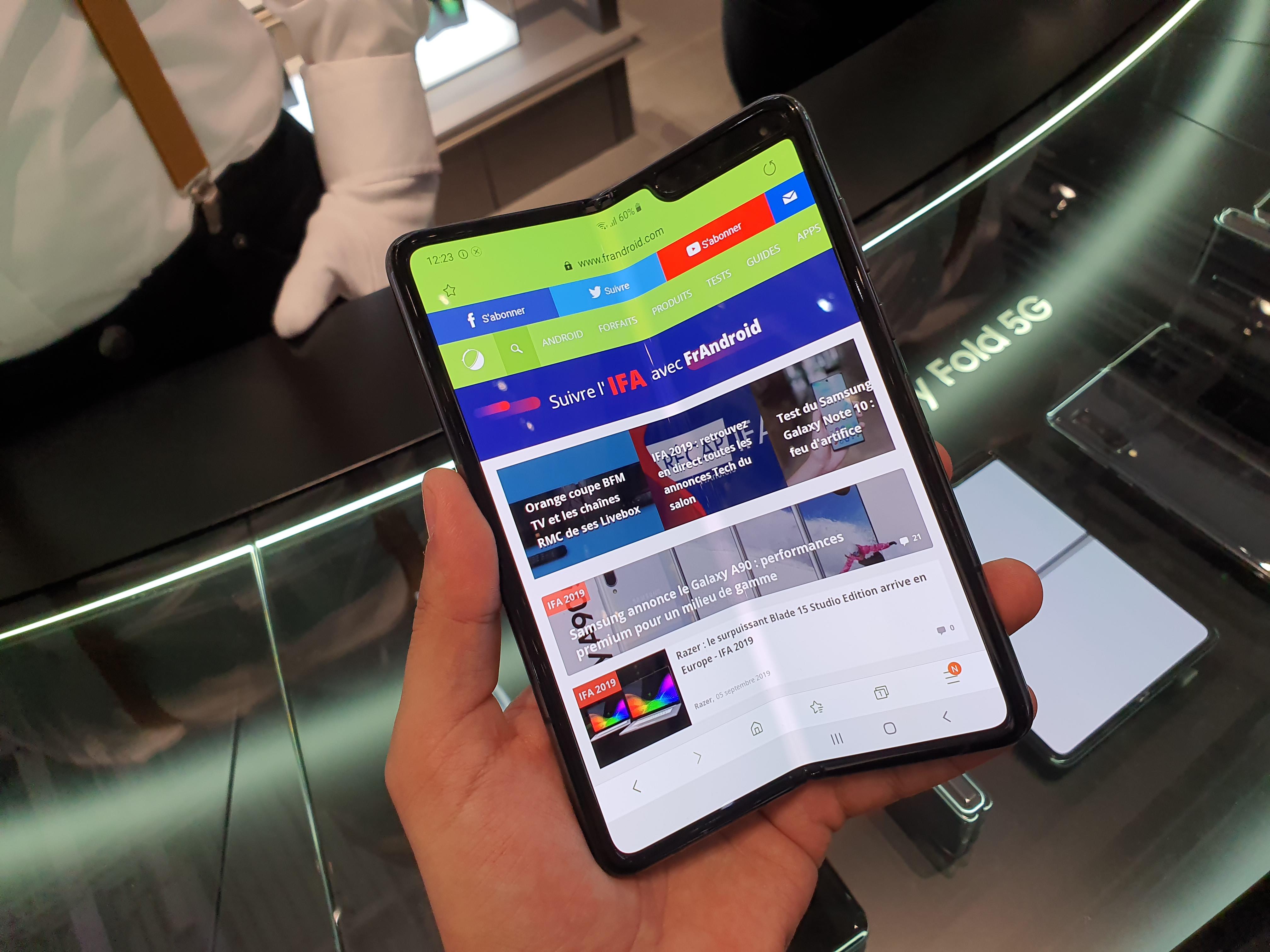 Le nouveau Samsung Galaxy Fold vous rassure-t-il ? – sondage de la semaine